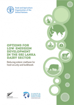 Options for Low Emission Development in the Sri Lanka Dairy Sector: Reducing enteric methane for food security and livelihoods