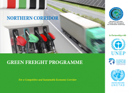 Northern Corridor Green Freight Strategy: For a Competitive and Sustainable Economic Corridor