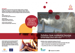 Pollution from residential burning (2 pages)