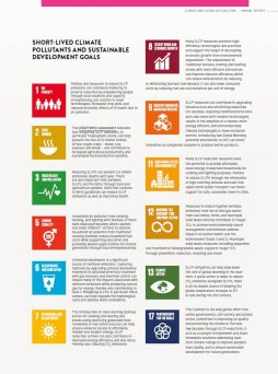 Short-Lived Climate Pollutants (SLCPs) and the Sustainable Development Goals