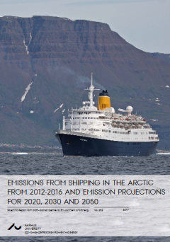 Emissions from shipping in the Arctic
