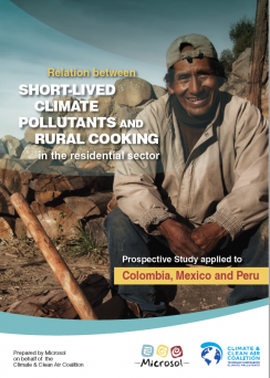 Relationship between SLCPs and rural cooking in the residential sector
