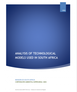 Analysis of Technological Models used in South Africa
