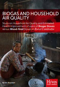 Biogas and Household Air Quality: Study on Household Air Quality and Estimated Health Improvement of users of Biogas Stoves versus Wood-fired Stoves in Rural Cambodia