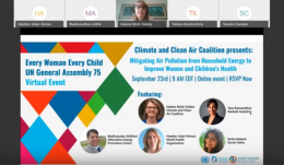 Mitigating air pollution from household energy webinar