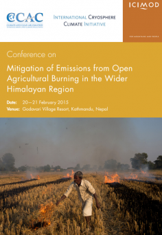 Mitigation of Emissions from Open Agricultural Burning in the Wider Himalayan Region
