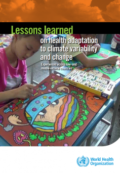 Lessons Learned – On Health Adaptation To Climate Variability And Change. Experiences across low- and middle-income countries