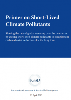 Primer on Short-Lived Climate Pollutants