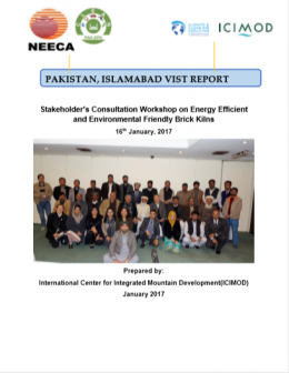 Stakeholder Consultation Workshop on Energy Efficient and Environmental Friendly Brick Kilns