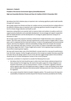 Statement of German Environment Agency