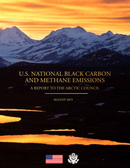US National Black Carbon and Methane Emissions: A Report to the Arctic Council