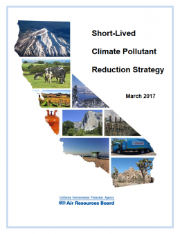California Short-Lived Climate Pollutant Reduction Strategy