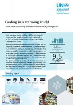 Cooling in a Warming World