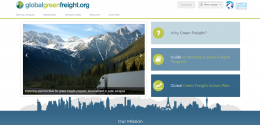 Global Green Freight website