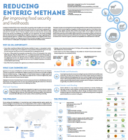 Poster: Reducing Enteric Methane for Improving Food Security and Livelihoods