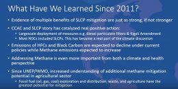 Short-lived climate pollutant science update