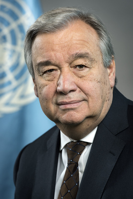 Antonio Guterres, UN Secretary General