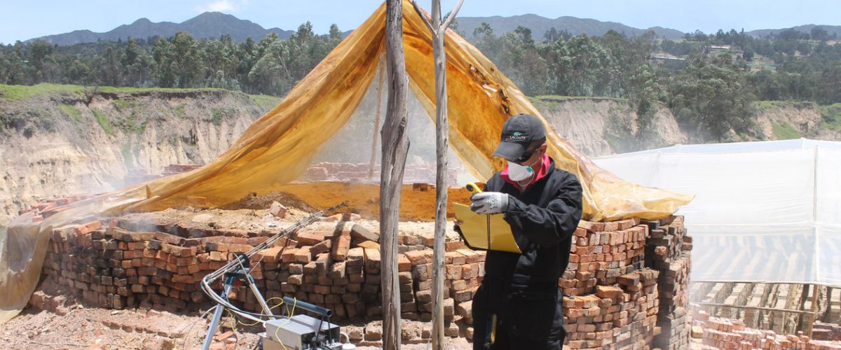 Measuring brick kiln emissions in Colombia
