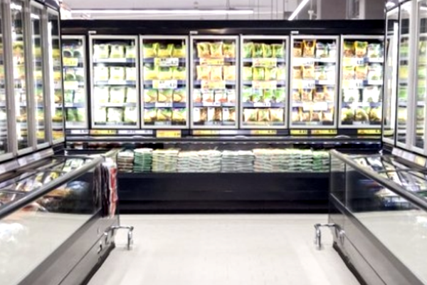 HFCs used in supermarket refrigerators